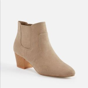 JustFab Ricky Gore Booties